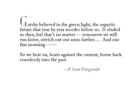meaning of the green light in the great gatsby
