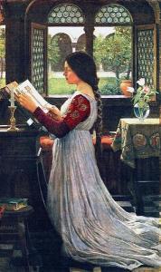 John_William_Waterhouse_-_The_Missal