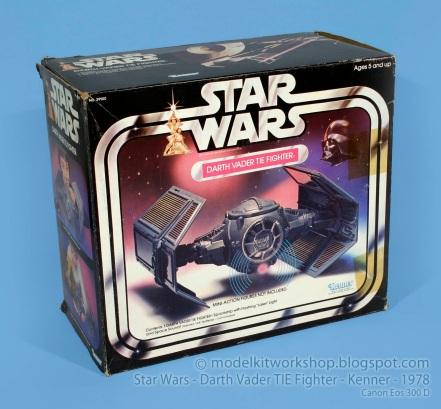 Collection Star Wars Darth Vader TIE Fighter 1978 Kenner FineMolds 02