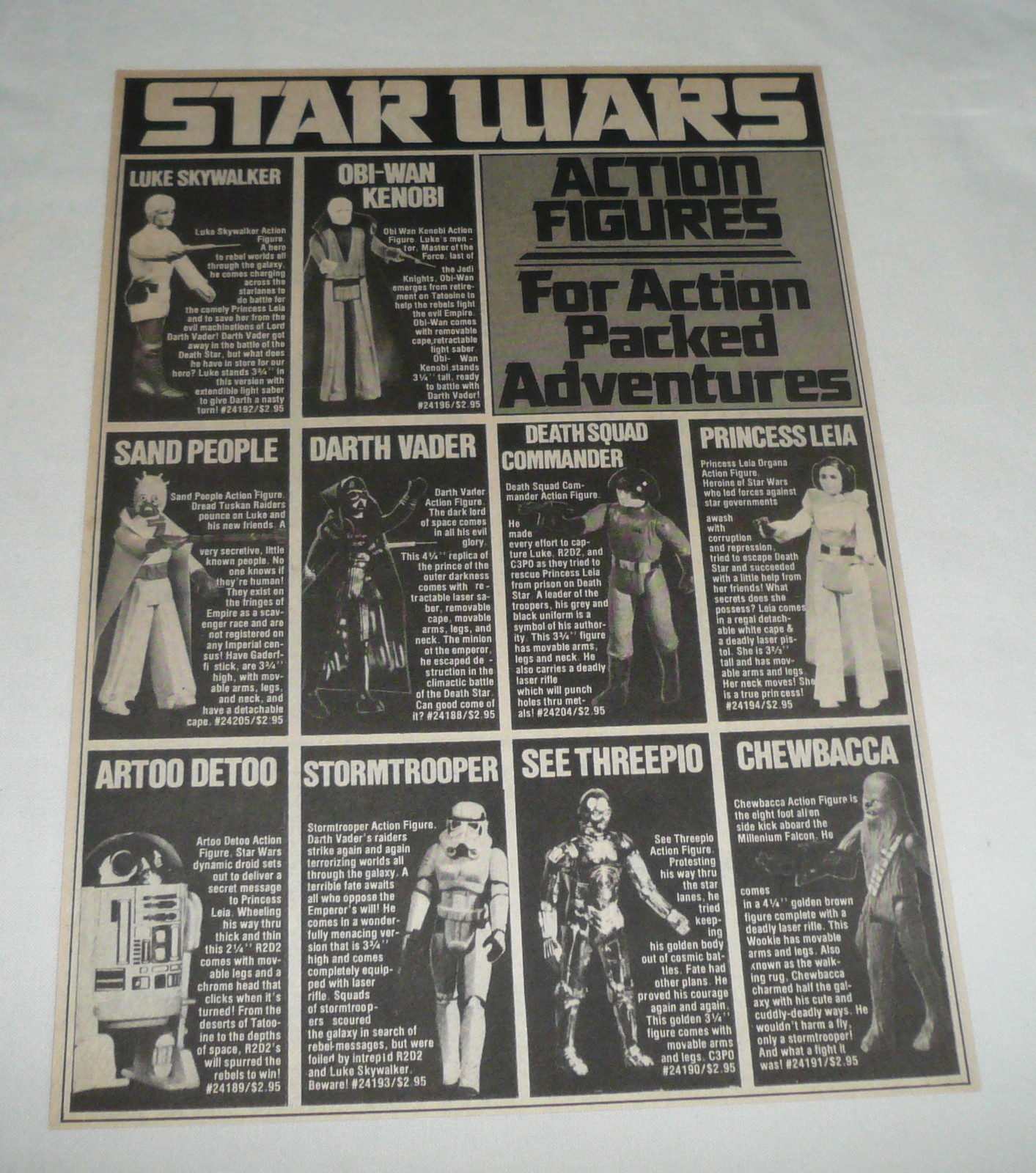 """Throwback Thursday: Kenner's first """"Star Wars"""" toys in ..."""