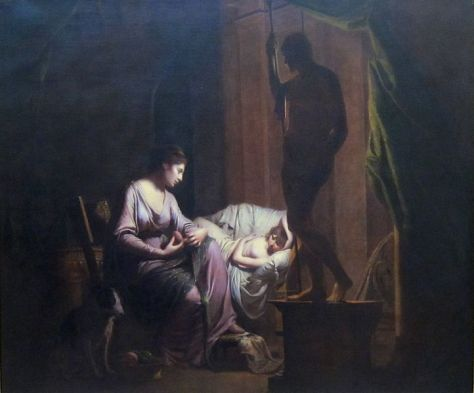 722px-joseph_wright_of_derby-_penelope_unravelling_her_web_by_lamp_light-_exhibited_1785