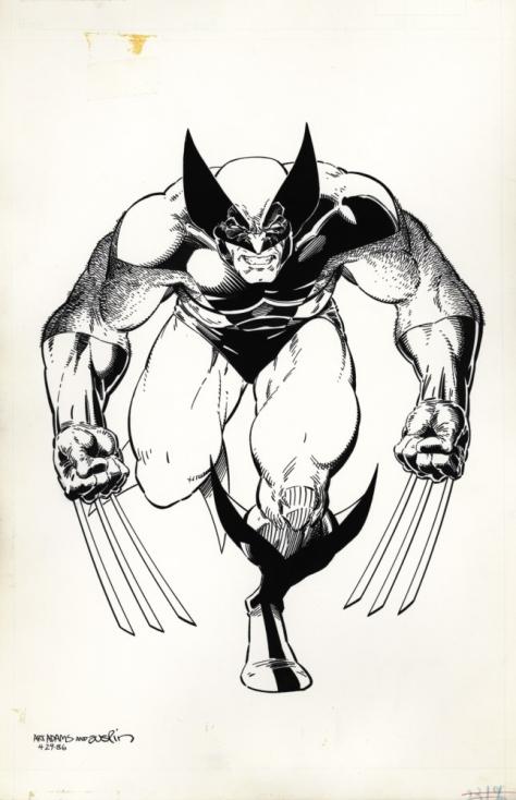 Arthur Adams Wolverine Poster (1)