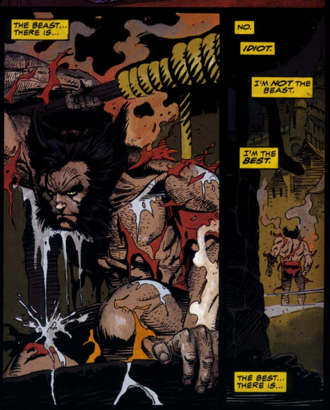 Wolverine Rahne of Terra - The Beast there is