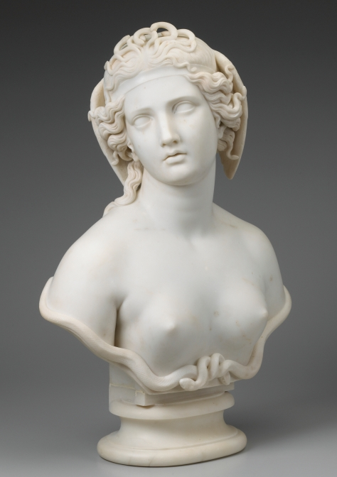Harriet Goodhue Hosmer; Medusa; c. 1854