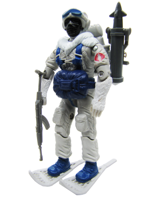 1985 GIJoe Cobra Snow Serpent Complete