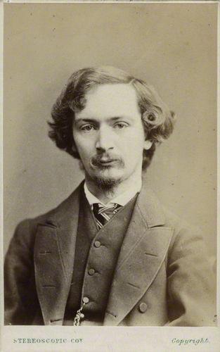 NPG Ax17804; Algernon Charles Swinburne by London Stereoscopic & Photographic Company
