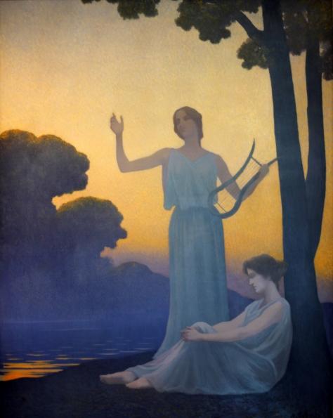 Alphonse_Osbert_-_Chant_du_soir_1906