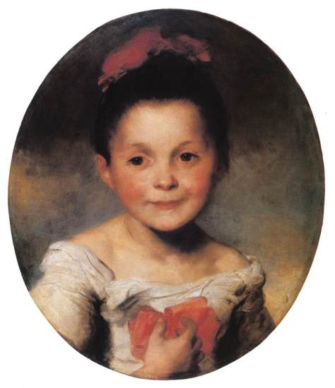 Brocky,_Karoly_-_Portrait_of_a_Little_Girl_(1850-5)