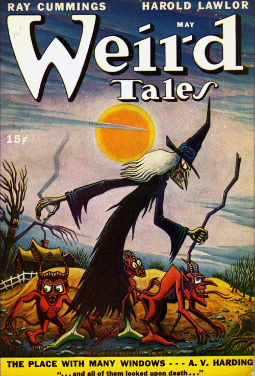 Weird Tales Cover-1947-05