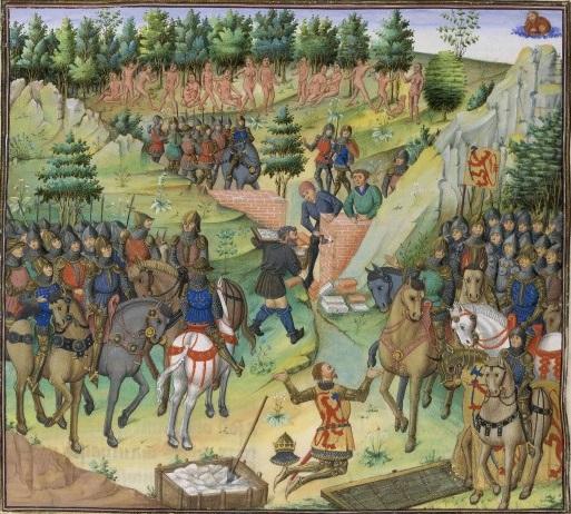 Wauquelin-histoire-bnf-fr9342-fol131v-peuple-de-gog-et-magog