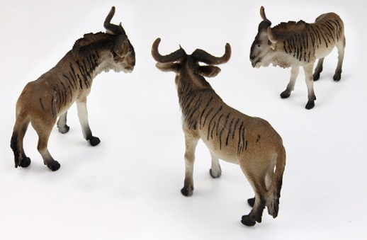 gnu-toys-Action-Figures-Model-Wild-Animal-PVC-plastic-Boys-Collections-Toy-Figure-Children-Gift