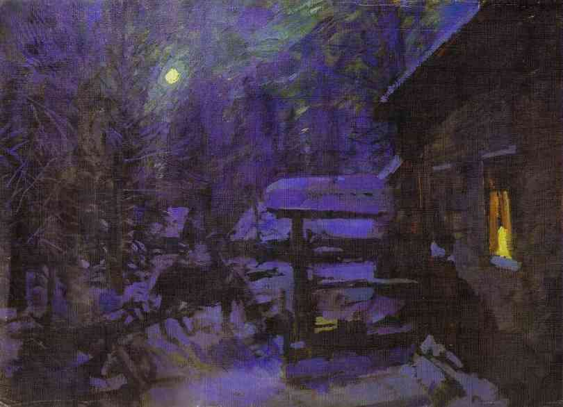 Korovin_moonlit_night