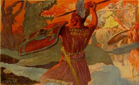 Odin_und_Fenriswolf_Freyr_und_Surt