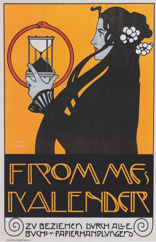 "Kolo_Moser_-_Plakat_für_""Frommes_Kalender""_-_1899"
