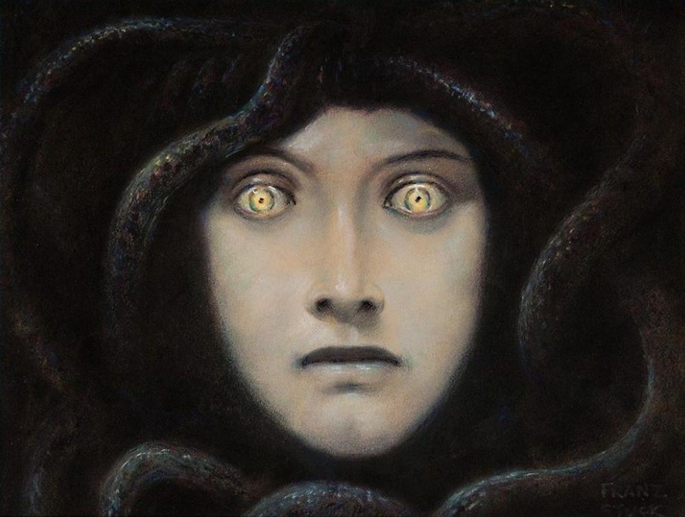 franz-von-stuck-head-of-medusa-1892