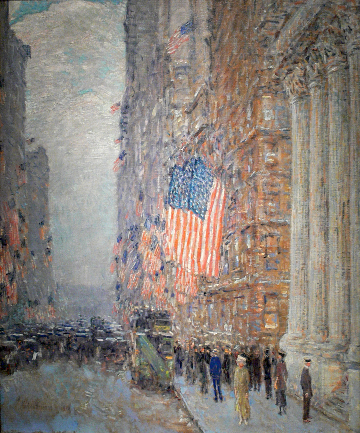 Childe_Hassam_Flags_on_the_Waldorf_Amon_Carter_Museum