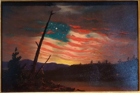 Our_Banner_in_the_Sky,_attributed_to_Frederic_Edwin_Church,_c._1861,_oil_on_paper_mounted_on_paperboard_-_De_Young_Museum_-_DSC00928