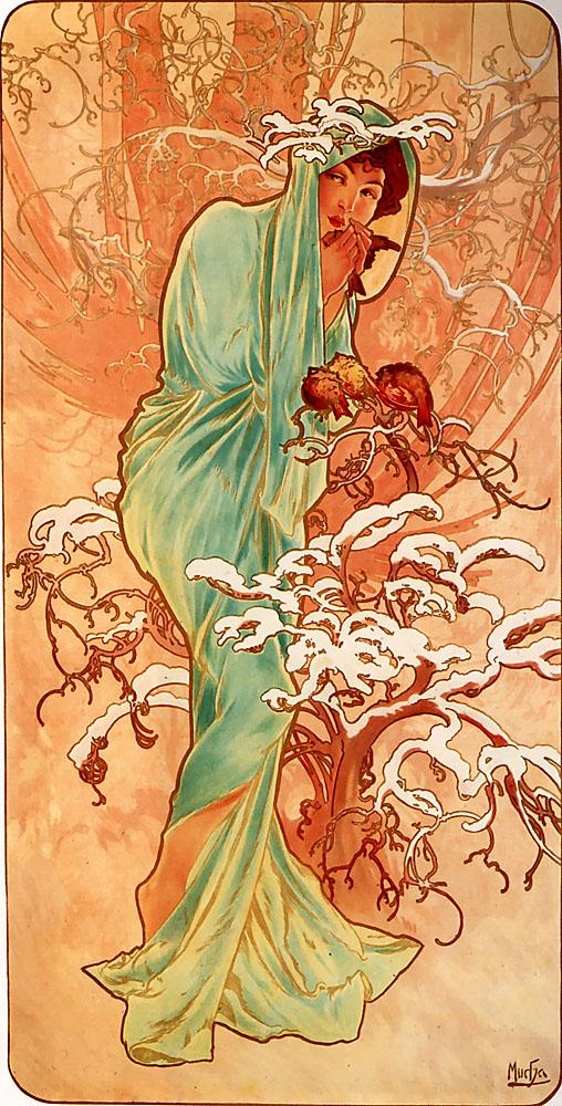 Alfons_Mucha_-_1896_-_Winter