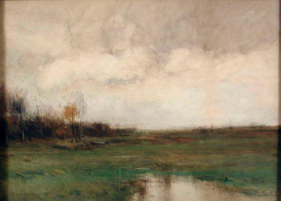 John_Francis_Murphy_-_Under_Gray_Skies_-_73.88_-_Indianapolis_Museum_of_Art