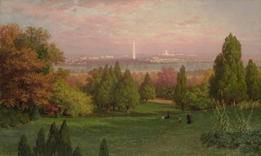 view_of_washington_from_arlington_by_john_ross_key