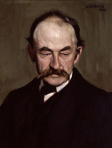 NPG 2929,Thomas Hardy,by William Strang