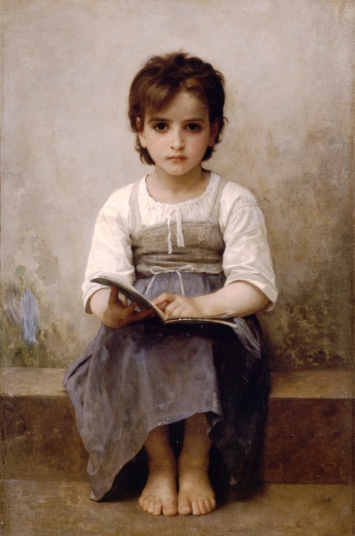William-Adolphe_Bouguereau_(1825-1905)_-_The_Difficult_Lesson_(1884)