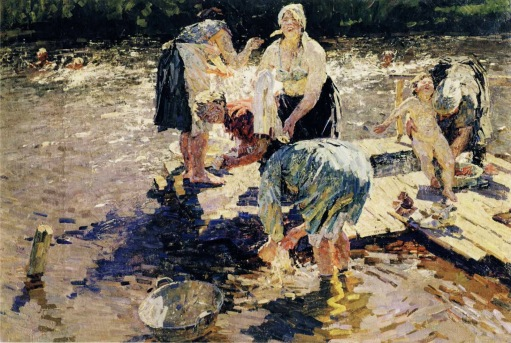 Alexei and Sergei Tkachev - Laundresses