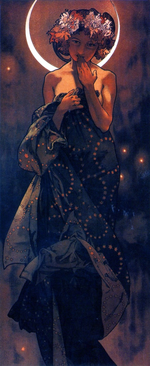 Mucha_The_moon