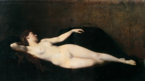 1865_Jean-Jacques_Henner_-_Woman_on_a_black_divan