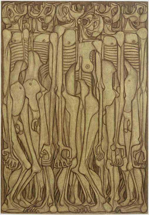 Untitled_drawing_by_Zdzislaw_Beksinski_1956