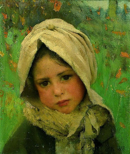 George_Clausen_-_girl