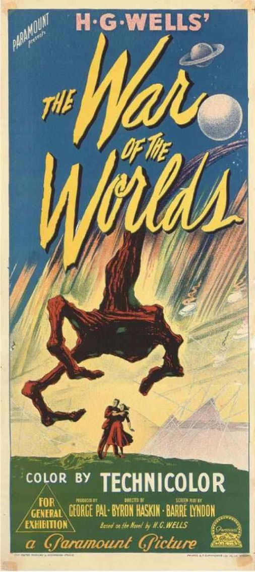 Best-Film-Posters-WAR-OF-THE-WORLDS-1953-Gene-Barry-Produced-by-George-Pal-Based-on-the-no