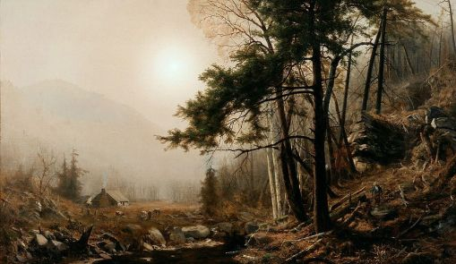 Jervis_McEntee_-_Indian_Summer_(1860s)