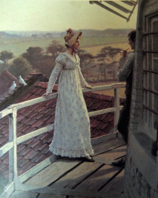 Edmund_Blair_Leighton_-_The_Windmiller's_Guest