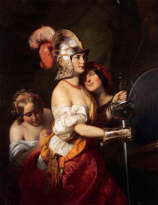 Friedrich_von_Amerling_-_The_Armed_Maiden