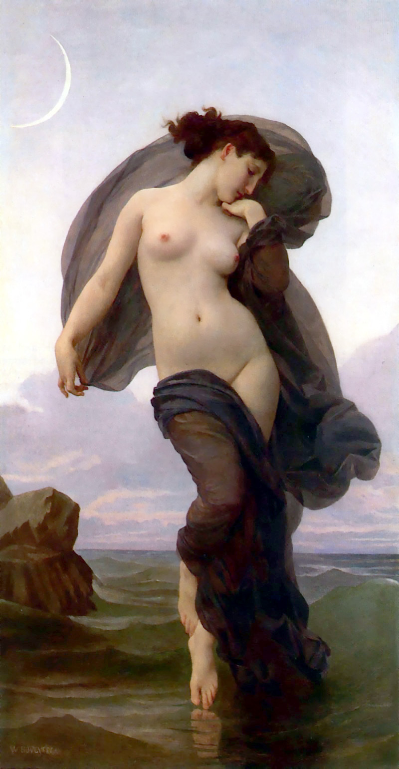 Bouguereau-Evening_Mood_1882