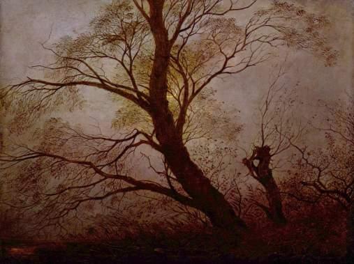 Carl_Julius_von_Leypold_-_Bäume_im_Mondschein