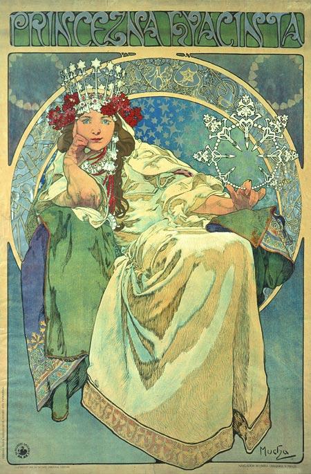 Mucha,_Alfons_-_Prinzessin_Hyazinthe_-_1911