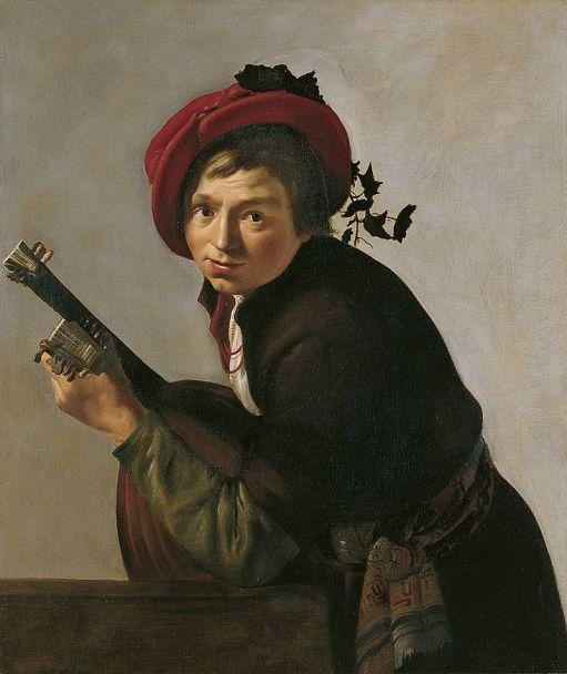 Jan_Gerrit_van_Bronchorst_-_Young_man_playing_a_theorbo_(Museo_Thyssen-Bornemisza)