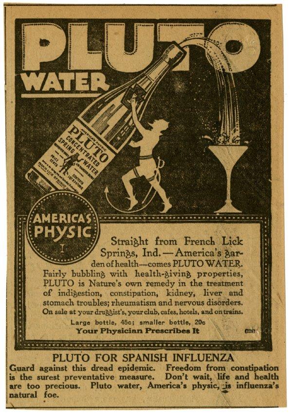 Pluto_Water_1918_For_Spanish_Influenza