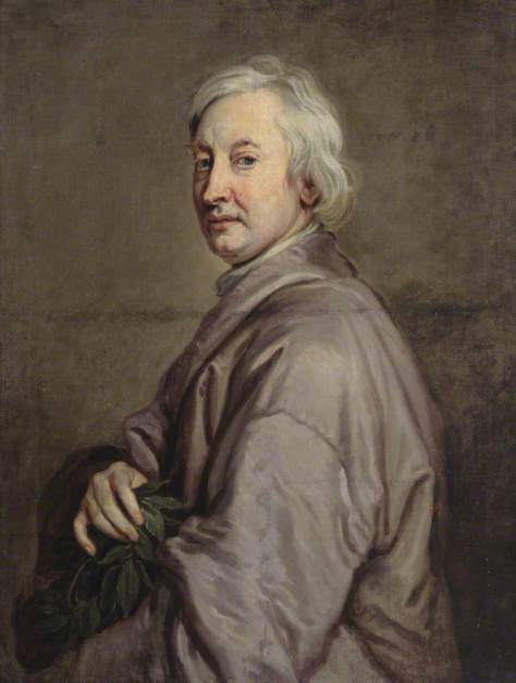 Kneller, Godfrey, 1646-1723; John Dryden (1631-1700), Playwright, Poet Laureate and Critic