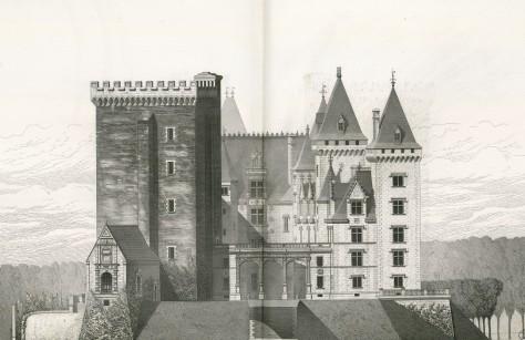 Château_de_Pau._Etat_actuel._Façade_principale_(est)_(double_page)_-_Fonds_Ancely_-_B315556101_A_LAFOLLYE_080