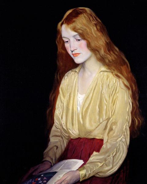William_Strang_portrait_Cynthia_1917