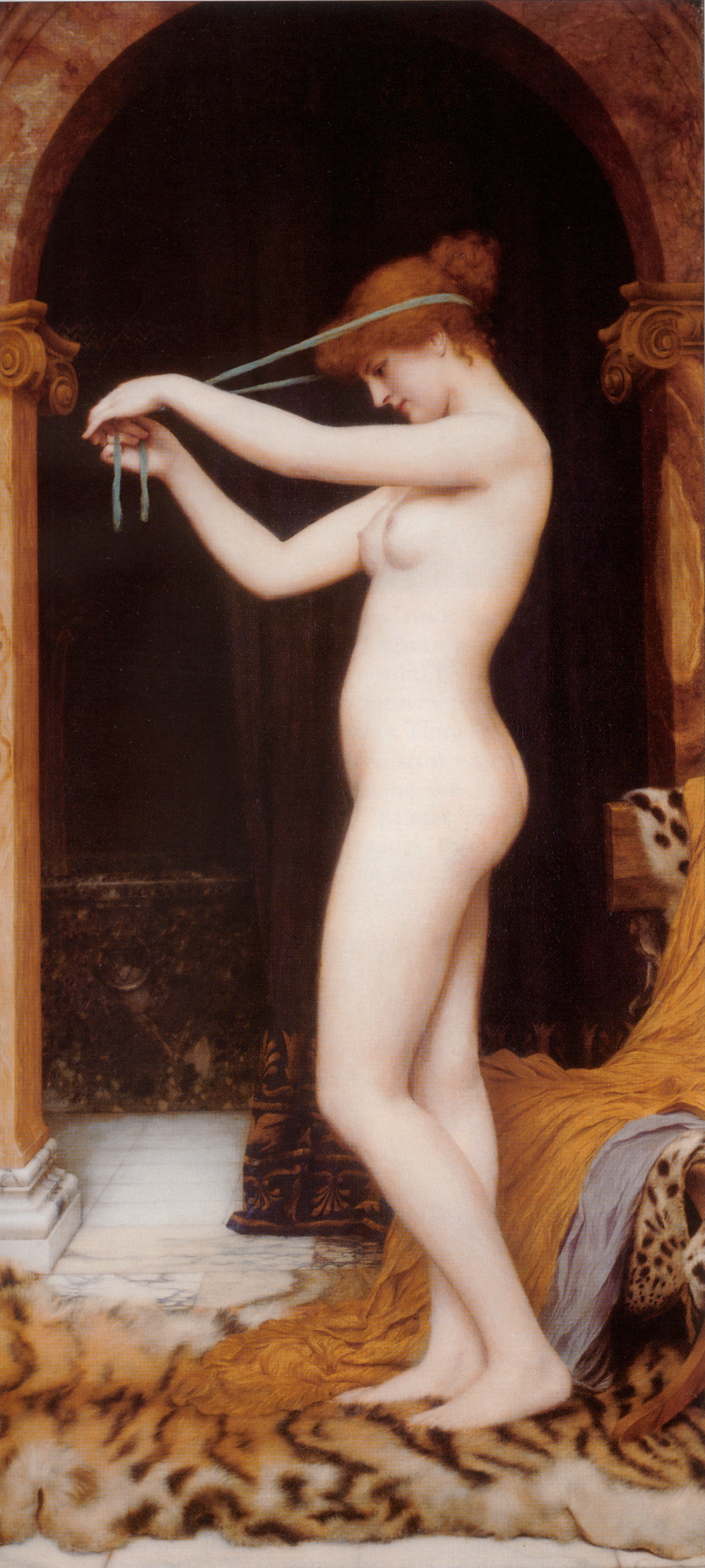 Godward_-_Venus_Binding_Her_Hair